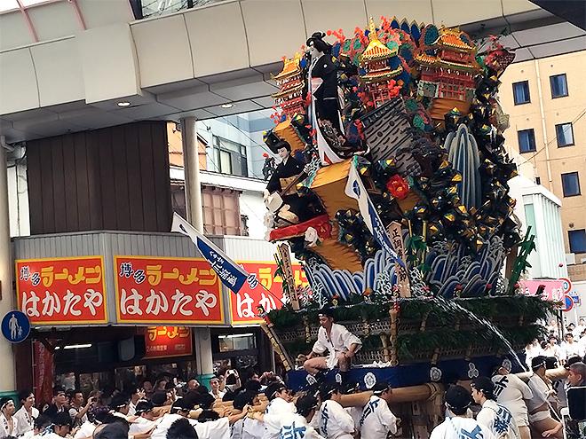 のぼせもんの祭り!博多祇園山笠