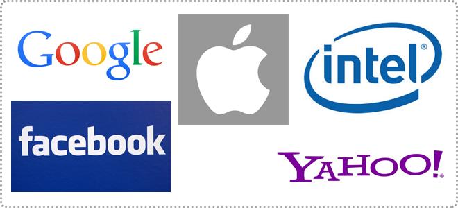 世界的にも有名な、Google、Intel、Yahoo、Facebookなどが集まった地域、そこがシリコンバレー