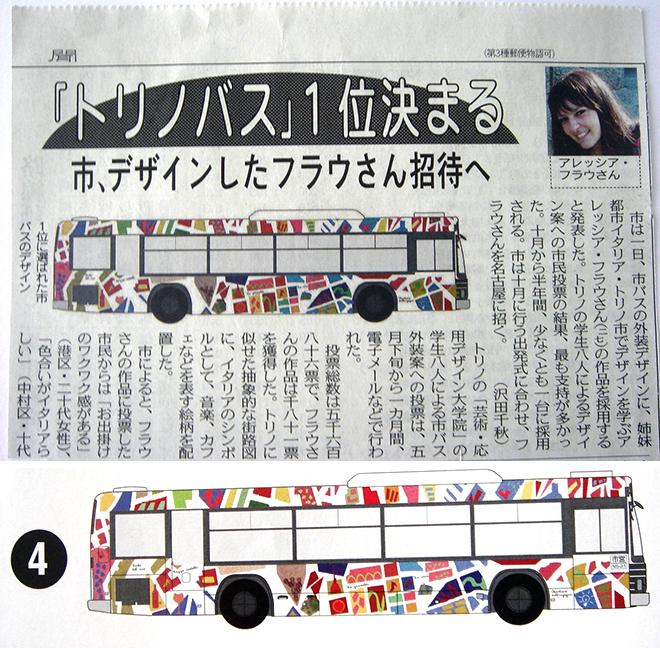 トリノラッピング市バス