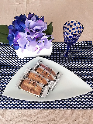 紫陽花で食卓に彩りを