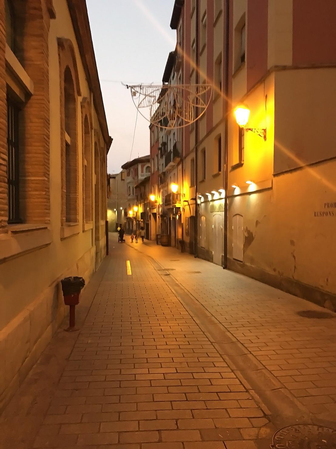 イエローベース~夕暮れの街並み
