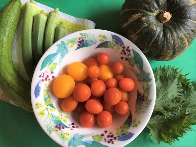 イエローベースの夏野菜