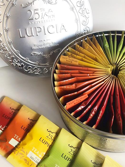 秋らしい紅茶のパッケージ