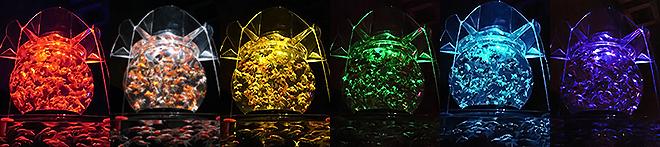 名古屋 アートアクアリウム展 花魁/巨大金魚鉢